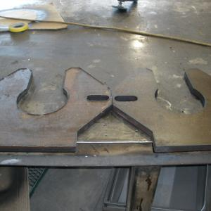 CAD design custom part fabrication assembly cnc plasma cutting table oil and gas production exploration